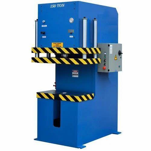 C Frame Hydraulic Press 150 ton, C Frame Hydraulic Machine - B.K. ...