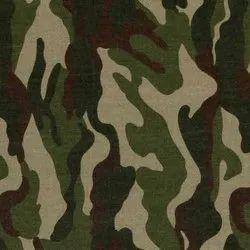 Gabardine Army Print Fabric, Use: For Army Uniform