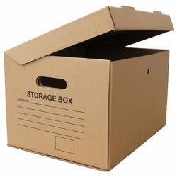 Printed Corrugated Paper Box