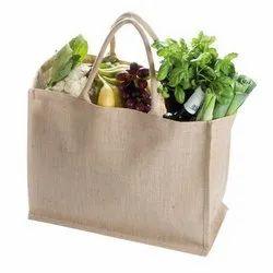 Plain Jute Vegetable Shopping Bag