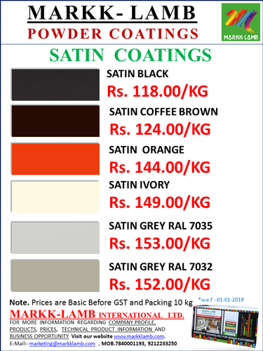Powder Coating Paint Manufacturer from Faridabad