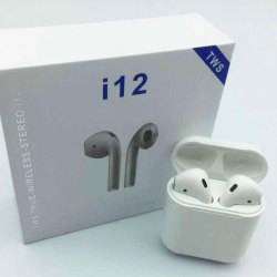 I12 TWS Bluetooth Earphone