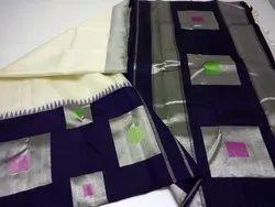 Silk Geometric Design Party Wear Saree