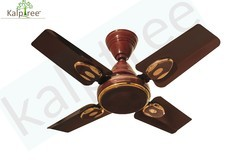 24 Inch Fan - Brown Kalptree