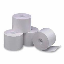 Plain White Thermal Paper Rolls