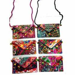 Embroidery Handicraft Ladies Sling  Bag
