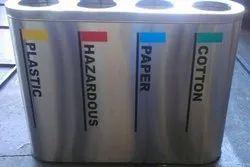 60 L Stainless Steel Dustbin