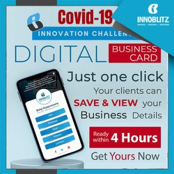 Digital business card designing services