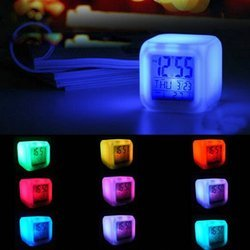 Color Changing Digital LCD Alarm