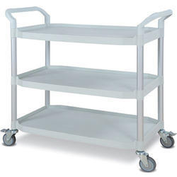 Deokali Stainless Steel SS Kitchen Utility Trolley