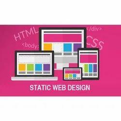 2 Week Yes Static Website Designing Service, User Friendly: 100% User Friendly
