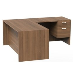 2 Drawer L Shape Executive Table