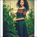 Green Croptop Gown