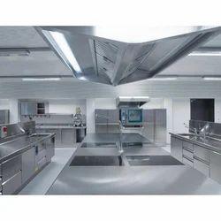 Stainless Steel Kitchen Exhaust System, For Kitchen, Restaurant