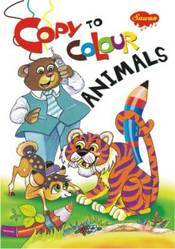 Copy To Colour Animals