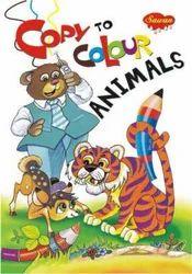 Copy To Colour Animals