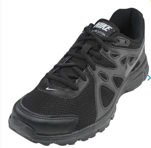 5656aaafb59d2 Nike Black Lace Up Shoes