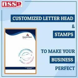 Customized Letter Head & Stamp