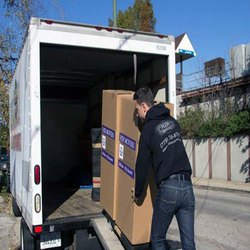 House Shifting Truck Loading Service, in Boxes, Local