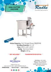 RADHE CHILLI CUTTER MACHINE