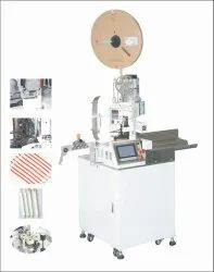 Single Head Wire Stripping and Crimping Machine