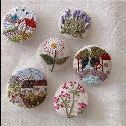 Embroidery Garment Buttons