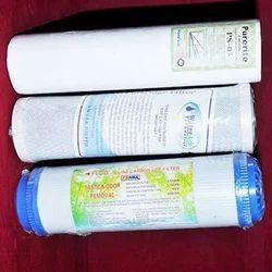 Manual Microfiber UDF Carbon Water Filter Cartridge