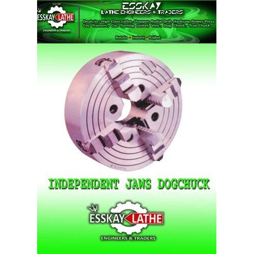 Esskay Stainless Steel 4 Jaw Lathe Chuck