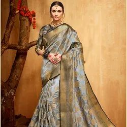 Weaving Work Banarasi Silk Saree