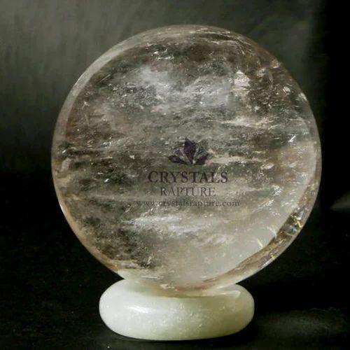 Stone Clear Quartz Ball, For Decoration Purpose