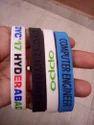 Round Silicone Wristband