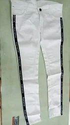 Ladies Slim Fit Front Rib Jeans, Waist Size: 32