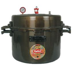 Hard Anodized Aluminum Pressure Cooker Jumbo Cooker