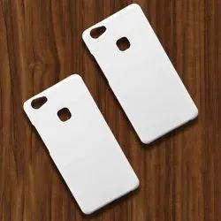 White Polycarbonate Vivo V7 Plus 3DSublimation Mobile Back Blank Cover, Packaging Type: Box