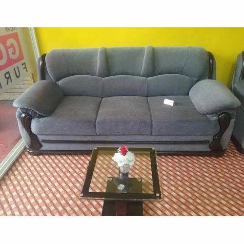 Grey 5 Seater Sofa Set
