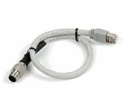 M12 8 Pin Male to RJ45 Cable