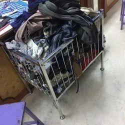 SS Cloth Basket for Home