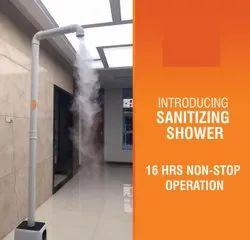 Sanitizing Shower