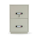 2 Drawer Mild Steel Rectangular File Cabinet