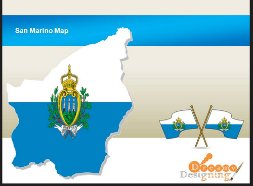 San Marino Map Design in Upvan Society, Surat | ID: 16229607212
