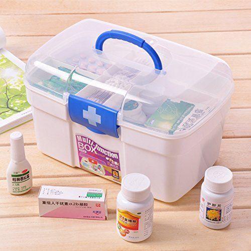 First Aid Medicine Storage Box