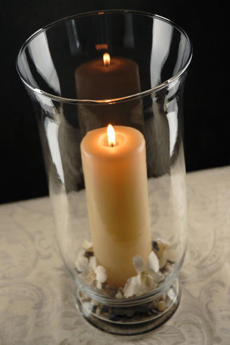 Glass Hurricane Vase Candles Holder At Rs 110 Piece Hsidc