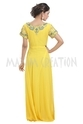 Long Floor Touch Maxi Dress For Women's