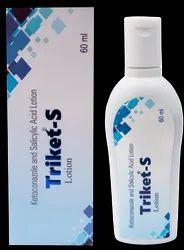 Ketoconazole 2% Salicylic Acid 2 % Lotion(Triket - S Lotion)