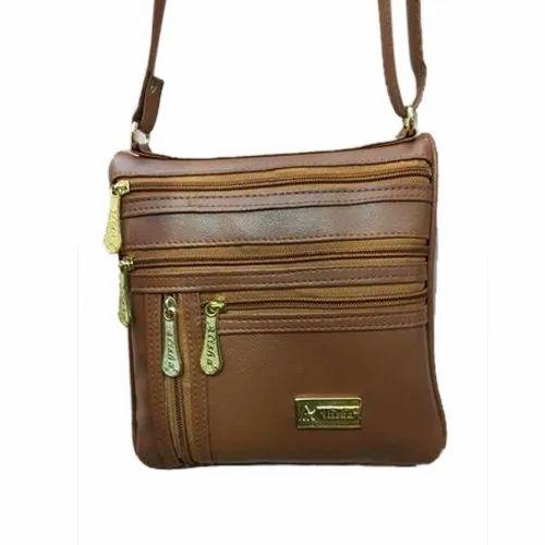 4fd3635735a Alisha Rexin Ladies Fancy Side Bag, Rs 100  piece, Ayesha Bags   ID ...