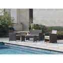 Outdoor Wicker Sofa Set