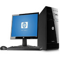 Hp Desktop, Screen Size: 17 Inch