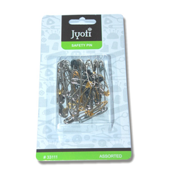 Jyoti Safety Pin  Assorted