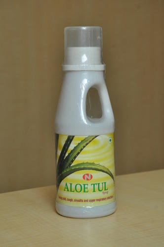 Ayurvedic Syrup for Respiratory Infections - ALOE TUL