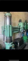 Hmt Rm62 Radial Drilling Machine